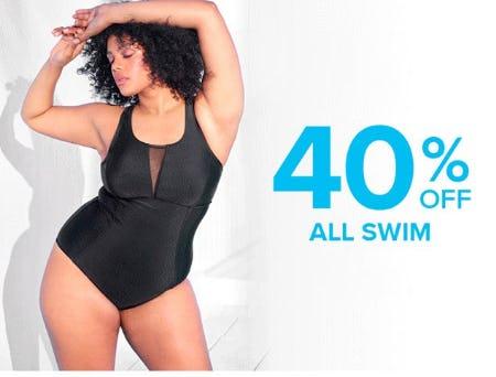 40% Off All Swim from Torrid