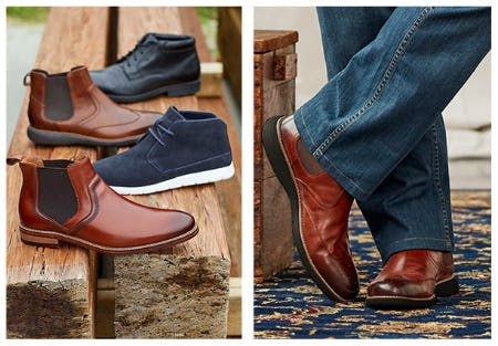 The Boom Chukka Chukka Boots from Dxl Mens Apparel