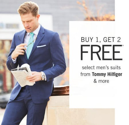 B1G2 Free Select Men's Suits from Belk