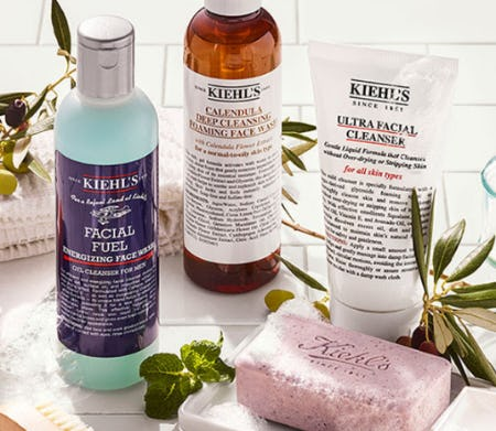 Our Best-Selling Cleansers from Kiehl's