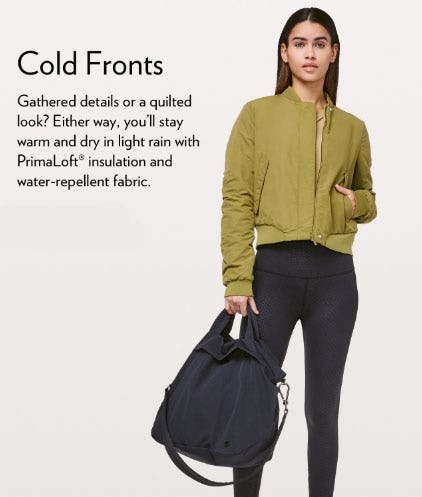 Stay Warm Out There from lululemon