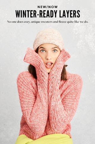 New/Now: Winter-Ready Layers from J.Crew