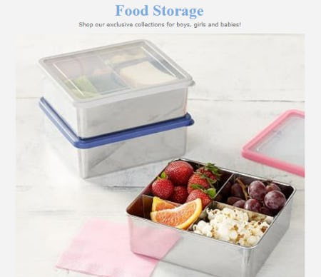 Shop Our Food Storage