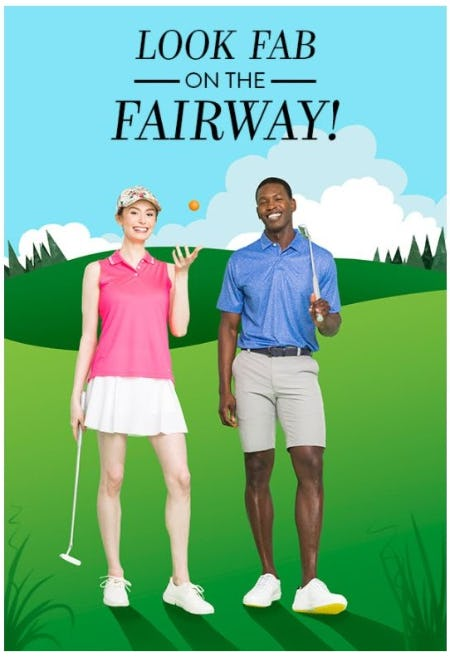 Bring your A-Game to the Golf Course from Von Maur