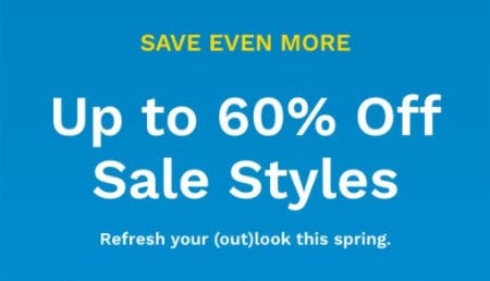 Up to 60% Off Sale Styles from Cole Haan