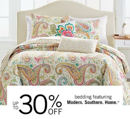Up to 30% Off Bedding from Belk