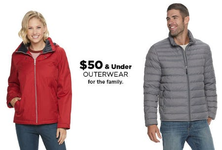 $50 & Under Outerwear from Kohl's