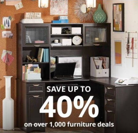 Up to 40% Off Over 1,000 Furniture Deals from Office Depot