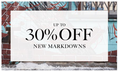 Up to 30% Off New Markdowns from Ugg