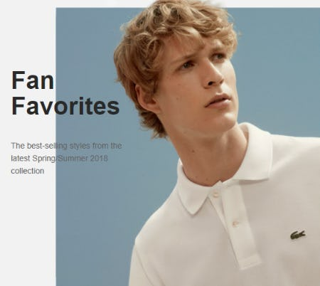 Explore Our Best-Selling Styles from Lacoste