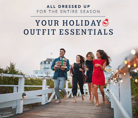 Holiday Outfit Essentials from vineyard vines