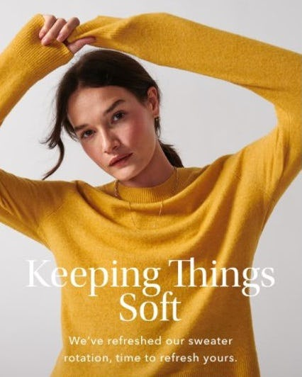 Sweaters with All the Details from Athleta