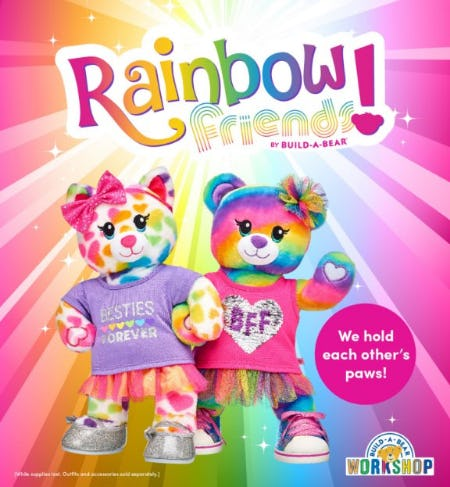 Meet the NEW Rainbow Friends Collection!