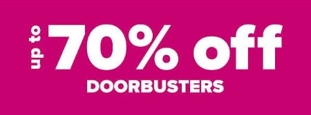 Up to 70% Off Doorbusters from Belk Store