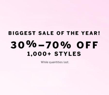 30%-70% Off 1,000+ Styles