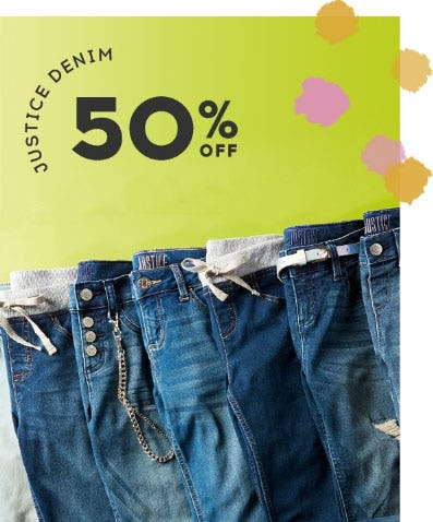 Justice Denim 50% Off from Justice
