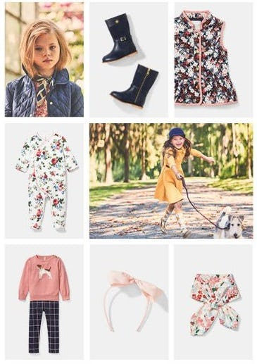 Fall Favorites for your Little Lady from Janie and Jack