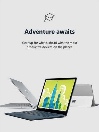 Explore Our Most Productive Devices from Microsoft