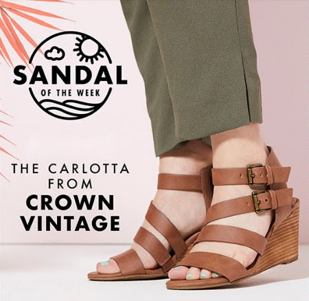 The Carlotta From Crown Vintage from DSW Shoes