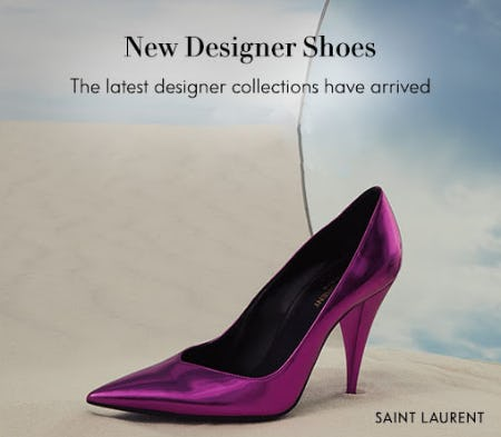 New Designer Shoes from Neiman Marcus