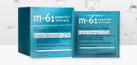 M-61 PowerGlow® Peel Extra Strength 20%