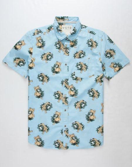 VSTR Cool Cat Mens Shirt from Tilly's