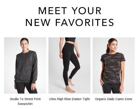 Meet Your New Favorites