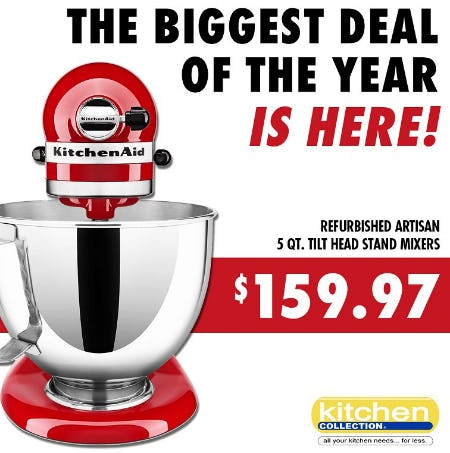 The Biggest Deal of the Year from Kitchen Collection