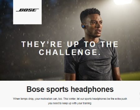 Bose Sports Headphones