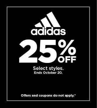 25% Off Adidas