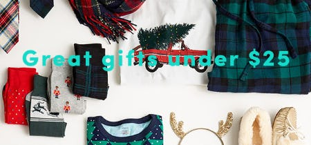 Great Gifts Under $25 from J.Crew Mercantile