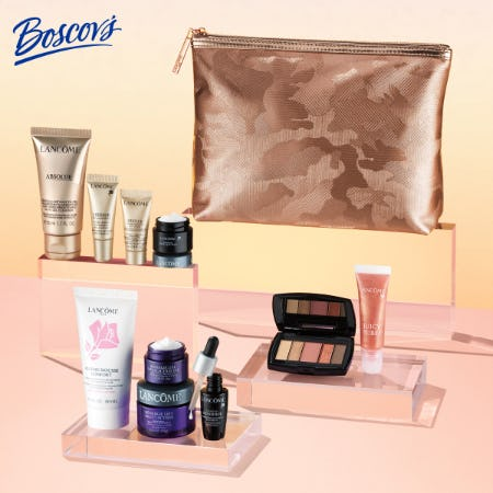 Lancôme Gift with Purchase at Boscov's from Boscov's
