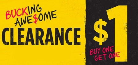 BOGO $1 Clearance from Spencer's Gifts