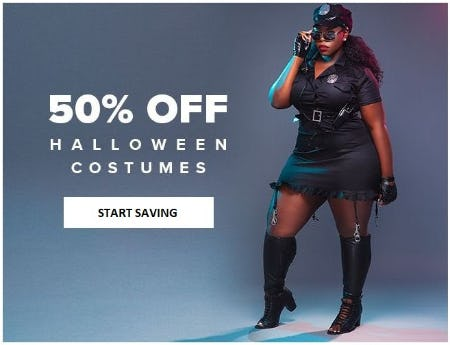 50% Off Halloween Costumes from Fashion To Figure