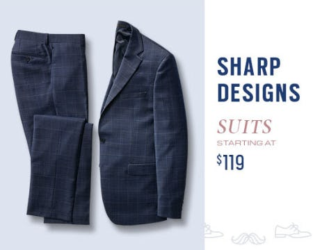 Suits Starting at $119 from Men's Wearhouse