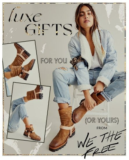 The Newest Arrival: We The Free Boots