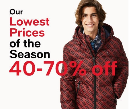 Our Lowest Prices of the Season: 40-70% Off Men's Essentials from macy's