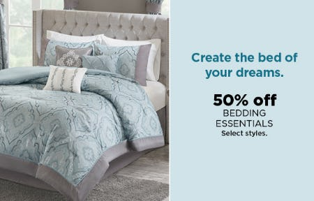 50% Off Bedding Essentials from Kohl's