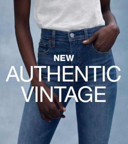 New Authentic Vintage from Gap
