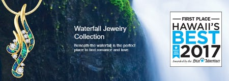 Waterfall Jewelry Collection from Na Hoku