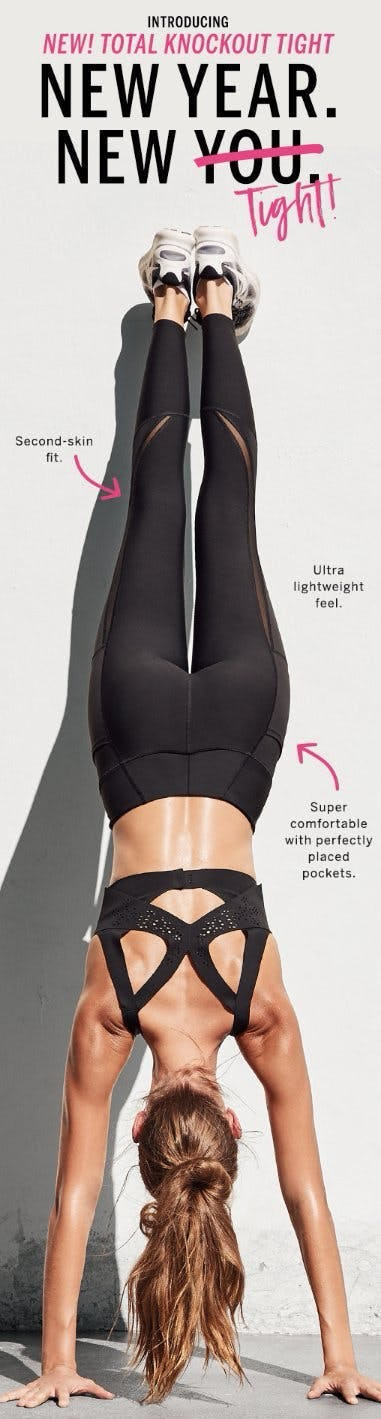 Introducing The New Total Knockout Tight
