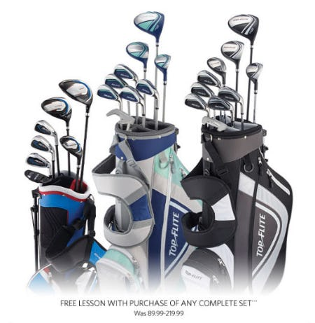 Free Lesson with Purchase of Any Complete Set