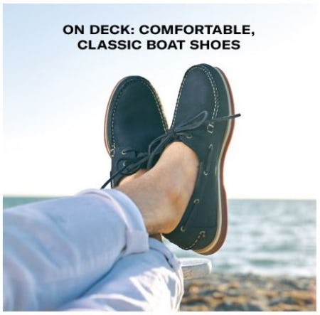 Comfortable, Classic Boat Shoes from Allen Edmonds