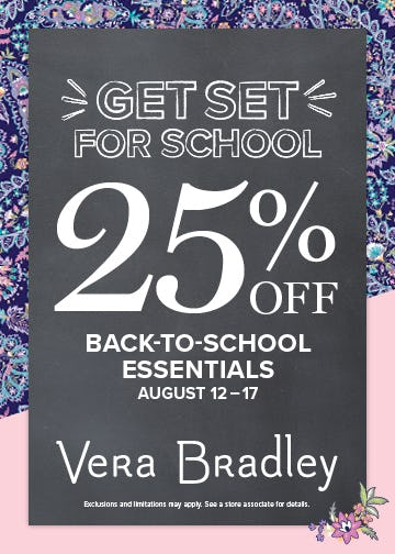 Check Off That List! from Vera Bradley