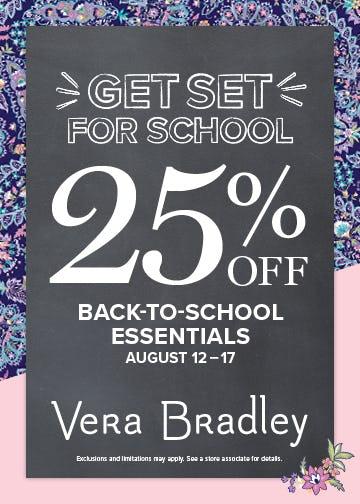 Check Off That List! from Vera Bradley