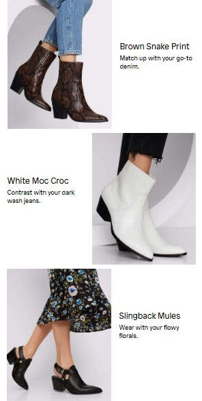 Ways to Wear Western from ALDO