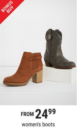Women's Boots From $24.99 from Belk