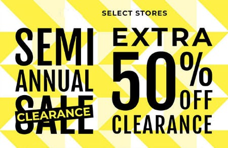 Extra 50% Off Semi-Annual Clearance from Torrid