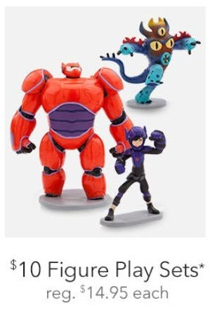 $10 Figure Play Sets from Disney Store