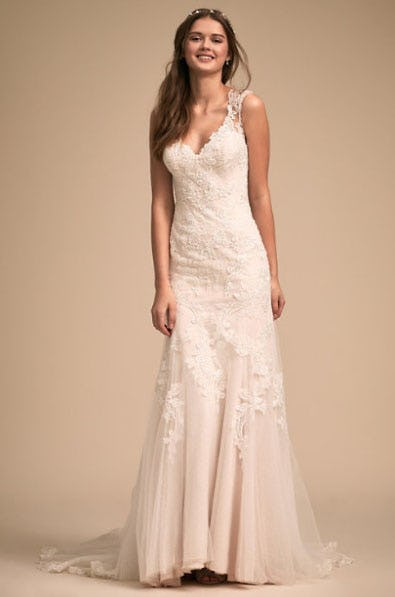 Lure of Lace Gown from Anthropologie